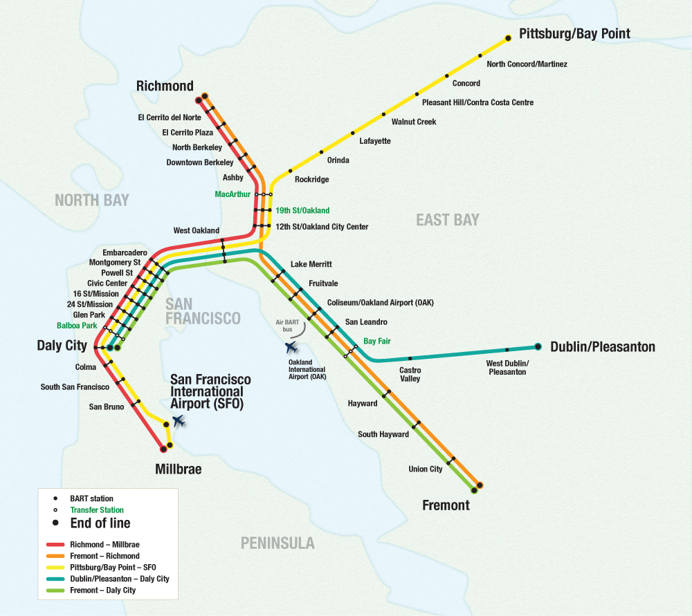 bart stations map moonboatcafe san francisco hotel bart map
